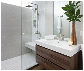 White and clean bathroom